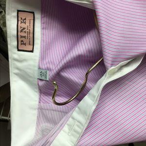 Thomas Pink Tops - Thomas PINK London shirt cuffs buttons size us 6